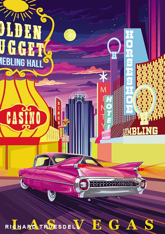 Grand Touring Art, Classic cars and American venues matched in Grand Touring Art series, ClassicCars.com Journal