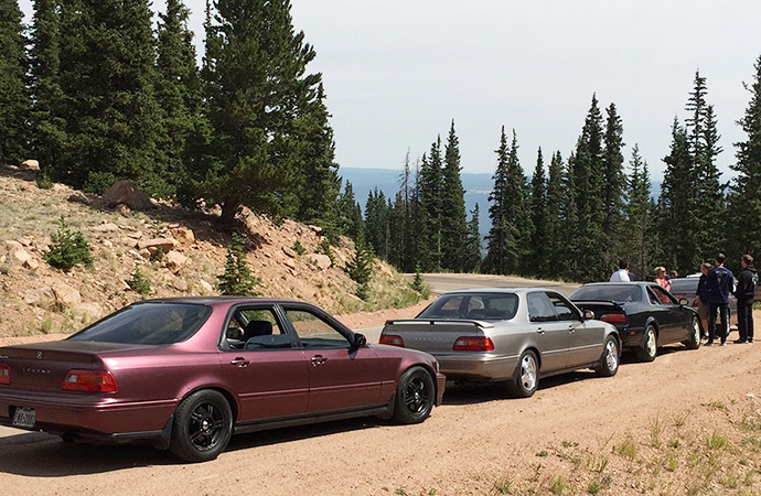 As summer's road trip opportunities present themselves, follow the lead of the National Acura Legend Meet group by putting away the car duster and taking a drive. | Tyson Hugie photo