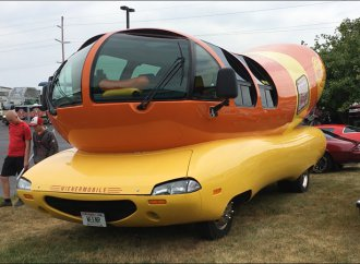 Famed Oscar Meyer Wienermobile marks 82 years on the road