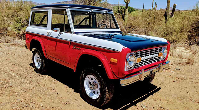 Make a splash at your Fourth of July party in this Bronco. | ClassicCars.com photo