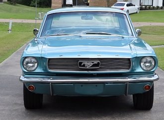 Sons surprise dad with his dream 1966 Ford Mustang