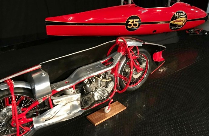 Simeone readies for its annual motorcycle exhibit
