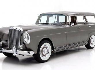 Bentley, Mercedes merged in one-off station wagon