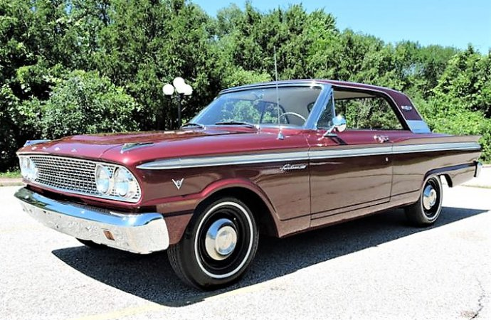 Nice survivor 1963 Ford Fairlane