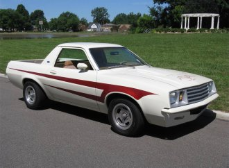 Say what? 1980 Ford Pinto pickup