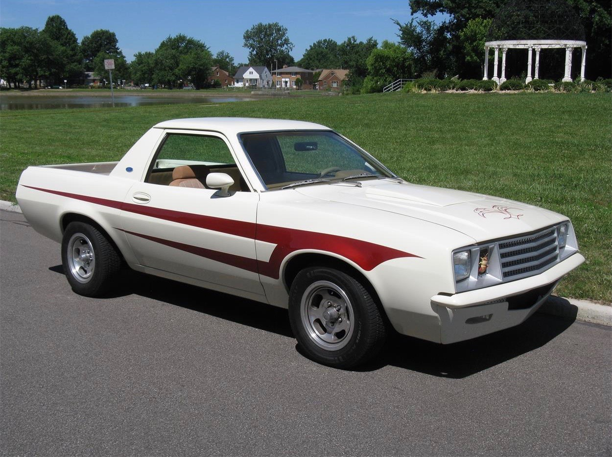 1980 ford pinto pickup