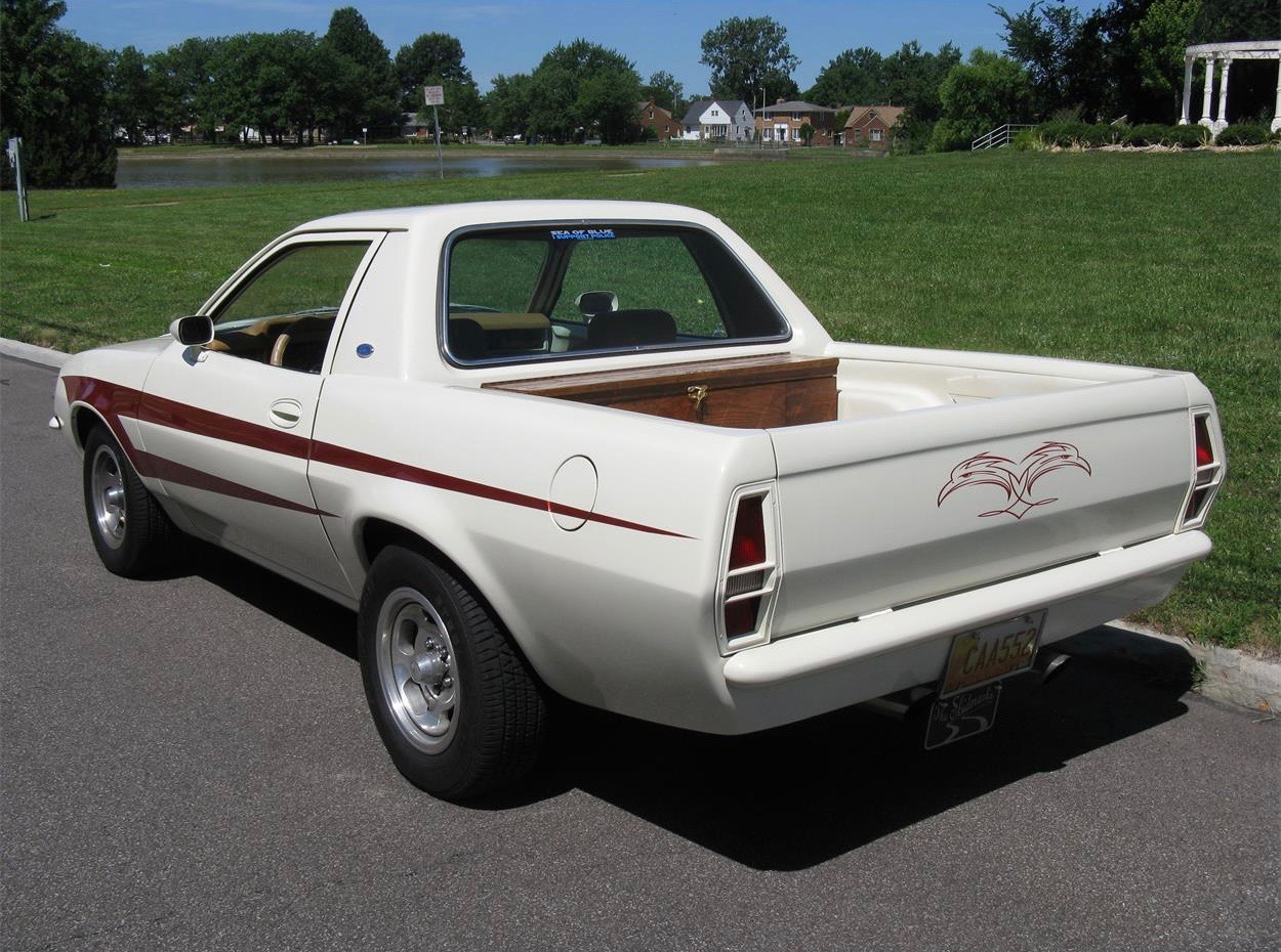 Car Detailing Supplies >> Pick of the Day is one-of-a-kind 1980 Ford Pinto pickup