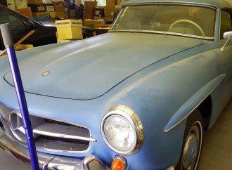 Grandmother's 190 SL needs restoration