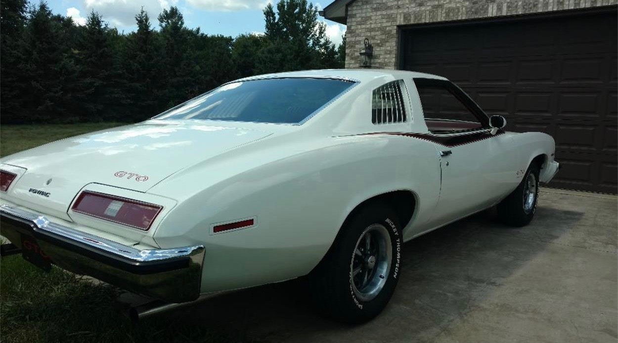 1973 Pontiac Gto Stands Out From Camaros Mustang