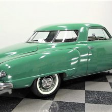 'Retro cool' 1949 Studebaker Champion Starlight Coupe