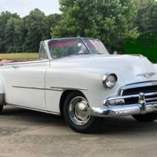 Cruisin' in style: 1951 Chevy Styleline convertible