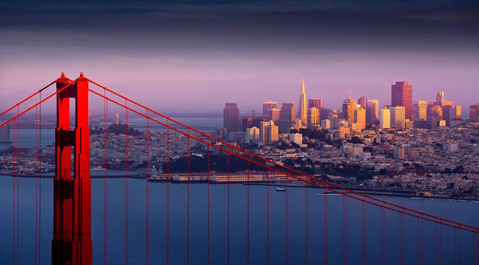 San Francisco has arguably some of the best vistas in the country. | Facebook photo