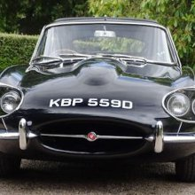 Earl's rare four-lamp Jaguar heading to auction