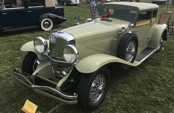 Magnificent 1932 Duesenberg J Coupe won Best of Show-Elegance at this year's Milwaukee Concours d'Elegance. | William Hall photo