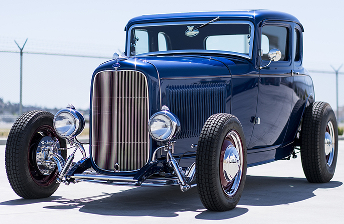 United Pacific Industries creates grille insert for 1932 Ford coupes