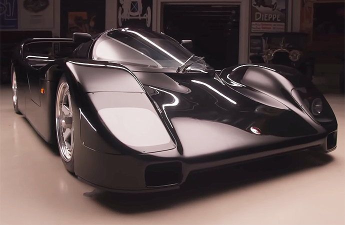 This 1993 Porsche Schuppan 962CR is one of just five left in the world.   Screenshot