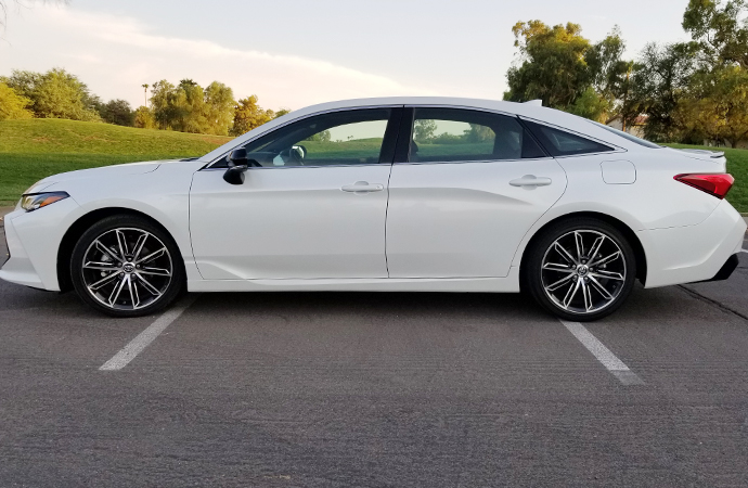 A longer, lower and wider design gave the 2019 Toyota Avalon a much sportier look. | Carter Nacke photo