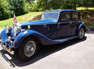 Barrett-Jackson countdown: 1937 Bentley 4 1/4-liter sedan