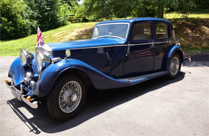Barrett-Jackson countdown: 1937 Bentley 4 1/4-liter sedan
