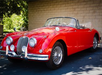 Barrett-Jackson countdown: 1959 Jaguar XK150