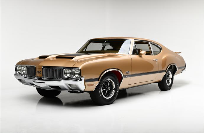 Barrett-Jackson countdown: 1970 Oldsmobile 442 W-30