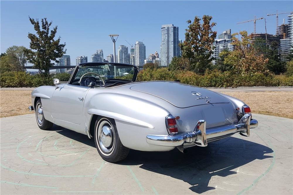 Barrett-Jackson countdown, Barrett-Jackson countdown: 1959 Mercedes-Benz 190SL, ClassicCars.com Journal