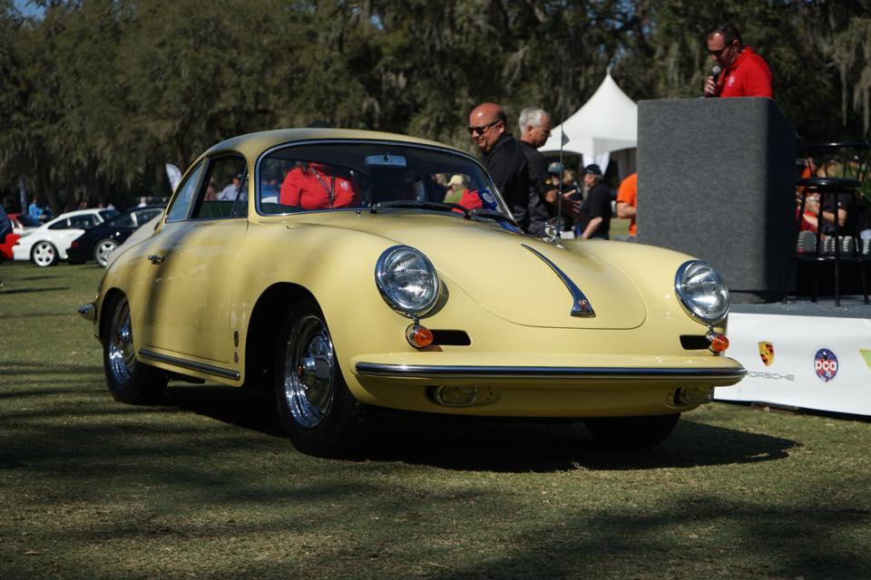 This 1963 356 Carrera 2000 GS coupe won an award at a past Porsche Werks Reunion. | Facebook photo