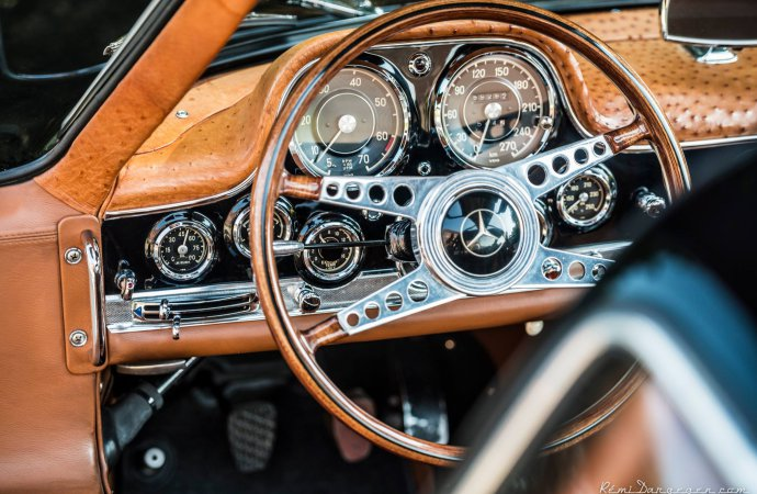 The car also has an ostrich leather interior. | Remi Dargegen Photography photo