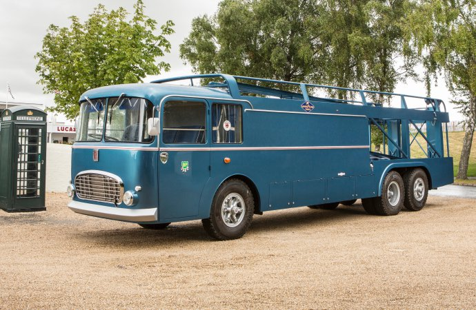 Transporter from Le Mans movie headed to auction