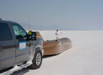 The annual August assault on the salt at Bonneville