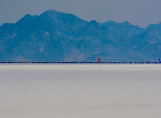 Ride along on a record-setting run at Bonneville
