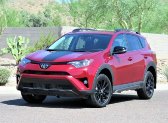 Driven: Toyota RAV4 Adventure, foiled by some wimpy tires