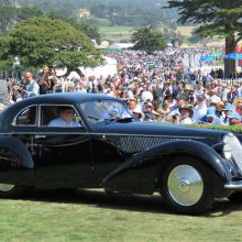 1937 Alfa Romeo 8C Berlinetta wins Pebble Beach Concours