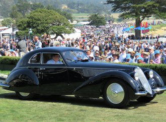 1937 Alfa Romeo 8C Berlinetta wins Pebble Beach Concours