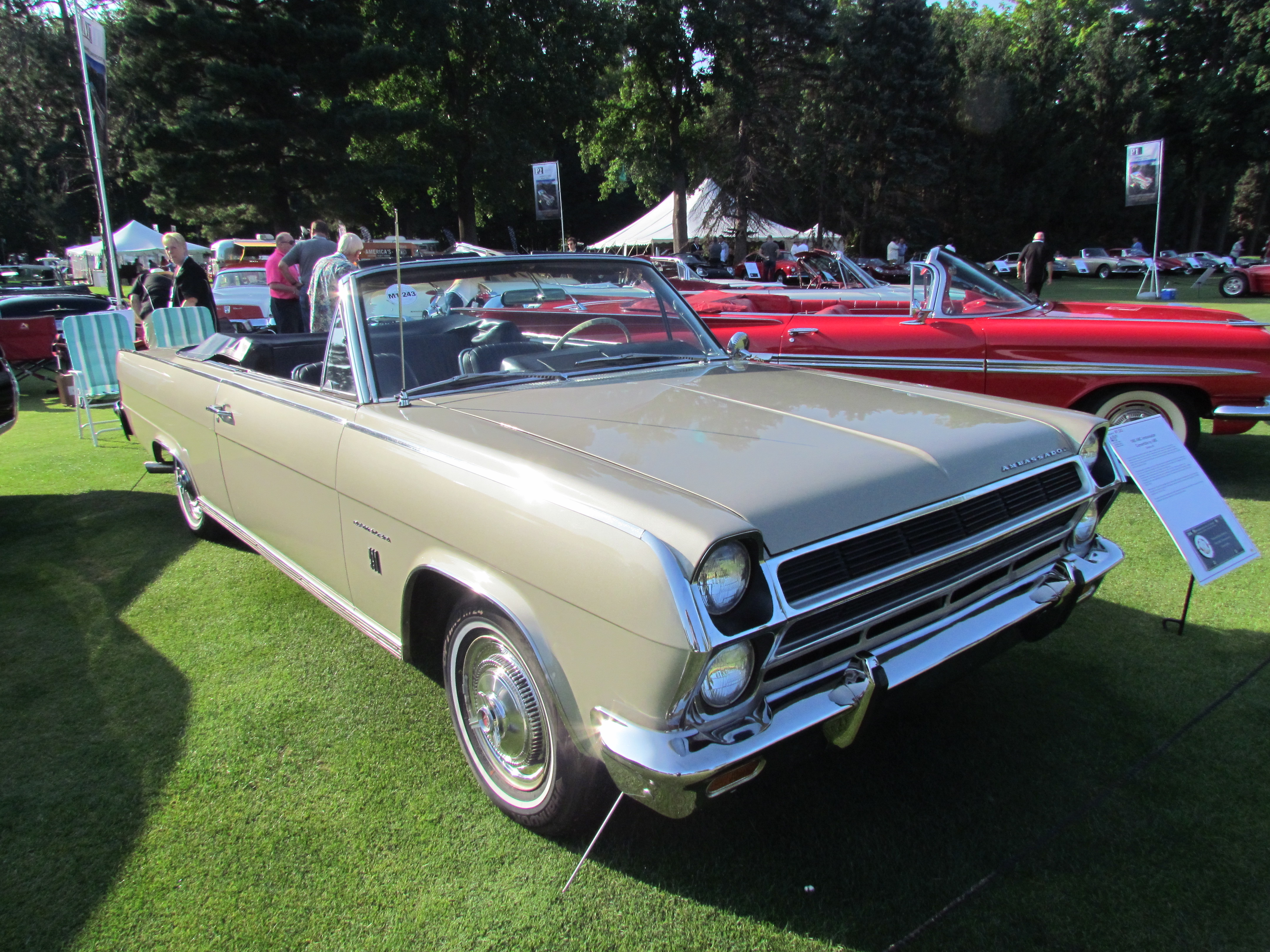 Cussler, Showing the spirit of the hobby at Concours America, ClassicCars.com Journal