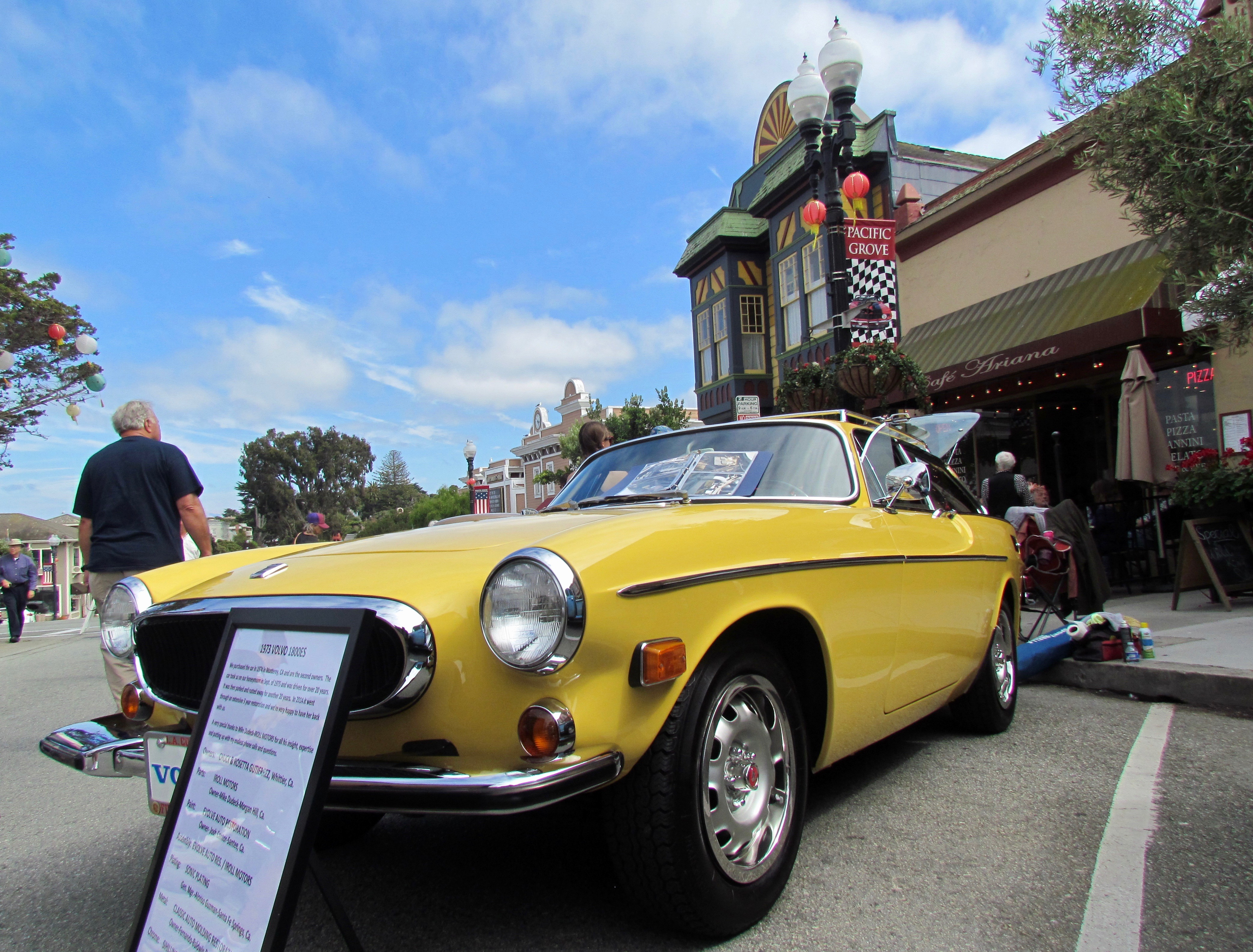 The Gutierrezes' 1800ES in Pacific Grove's Lighthouse Avenue business district