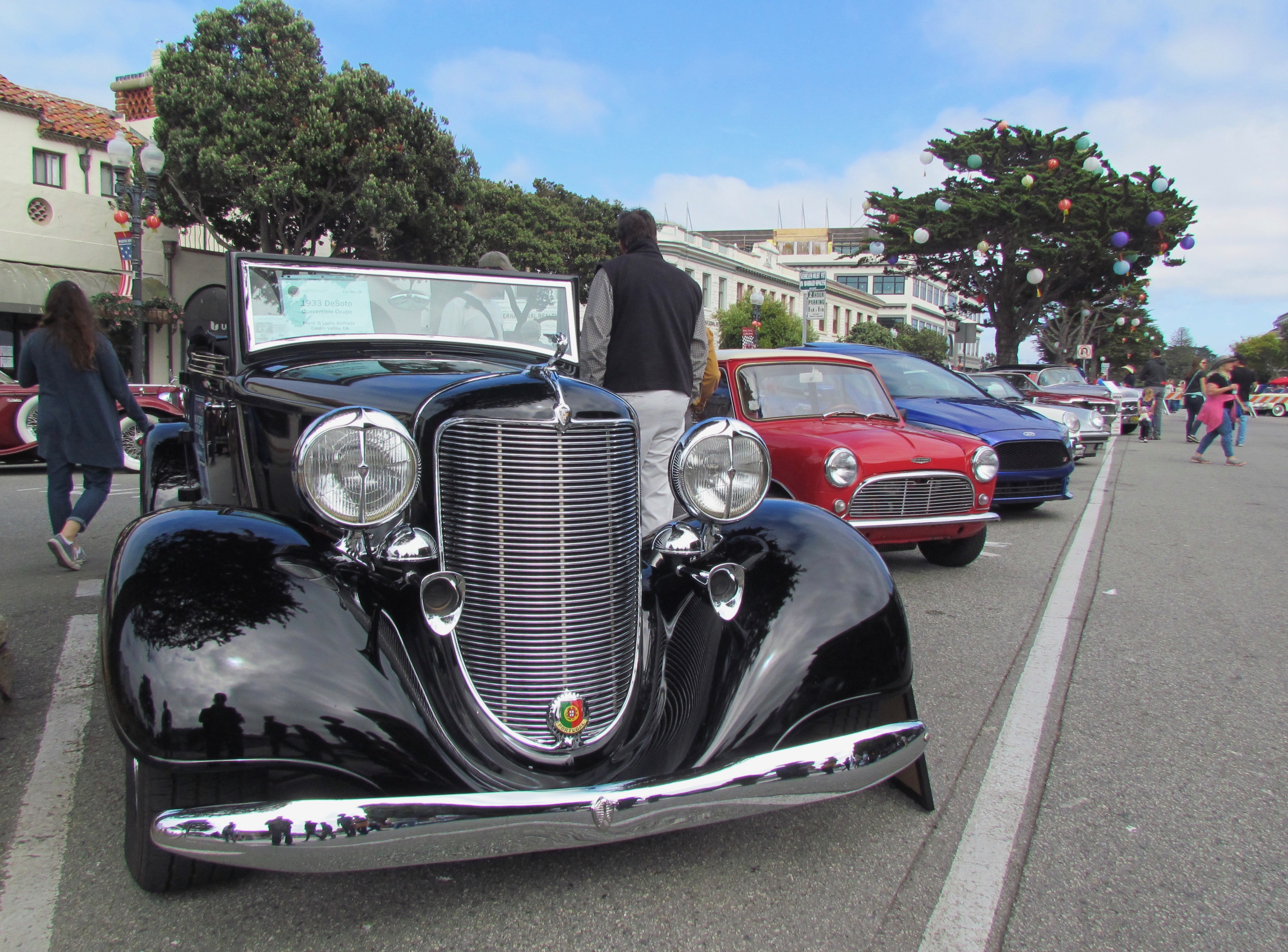 Monterey, Ultimate irony: Monterey Car Week is all about cars, but there's no place to park one, ClassicCars.com Journal