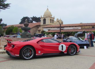 The Monterey car show that's absolutely heavenly