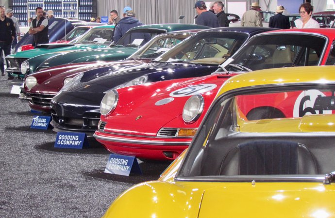 Larry's likes at Gooding's Pebble Beach auction