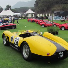 Somethings old, but lots very new at The Quail automotive gathering