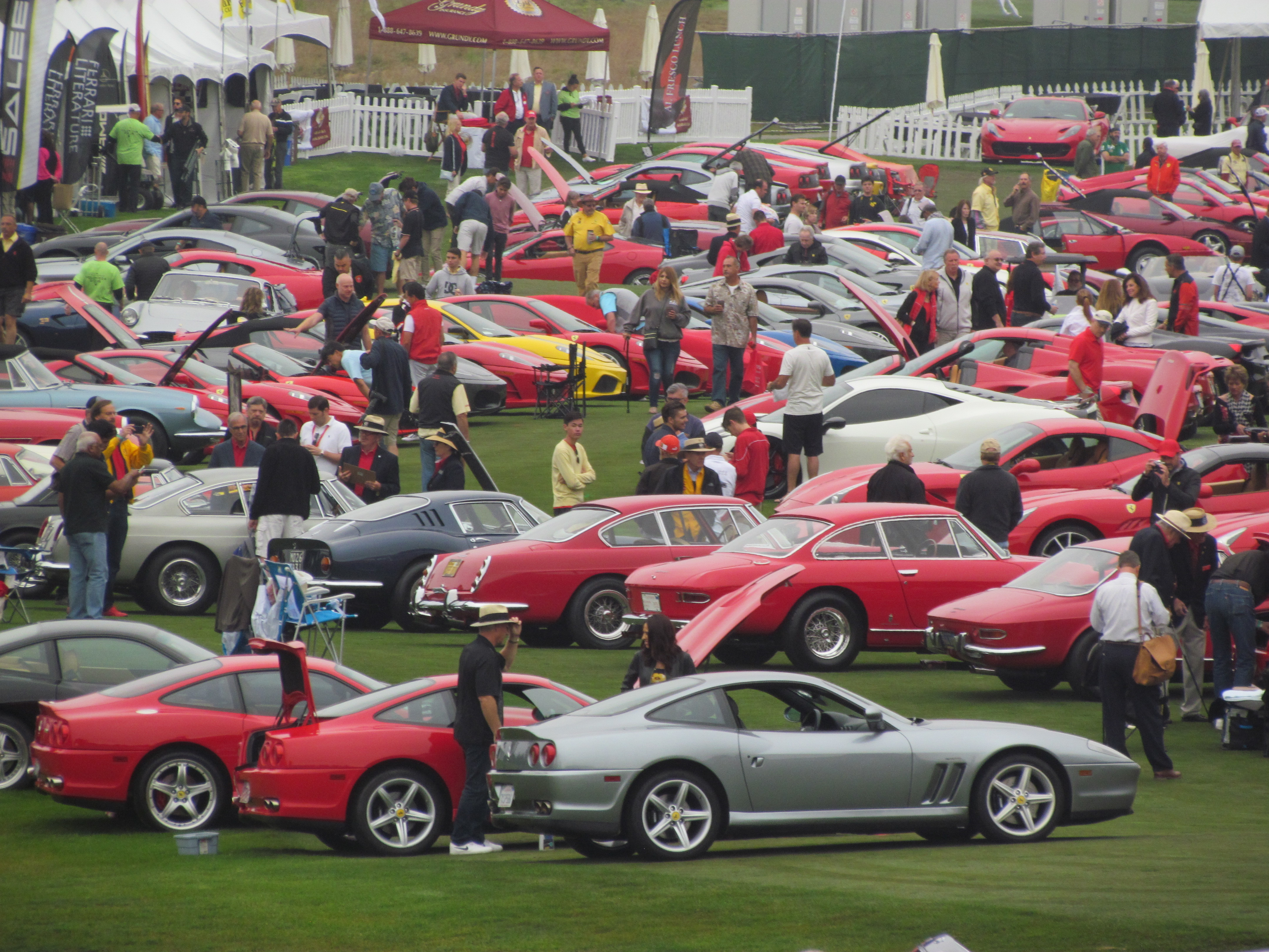Monterey Car Week Is All About Cars But Theres No Place To Park One - Monterey car show