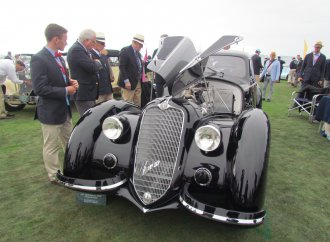 If Pebble Beach concours had a People's Choice award