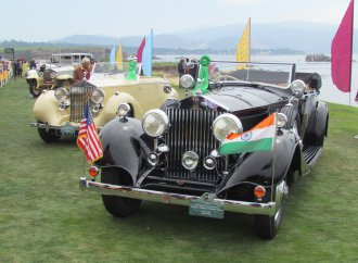 Royal rides: Motor Cars of the Raj provide pleasant surprise at Pebble Beach