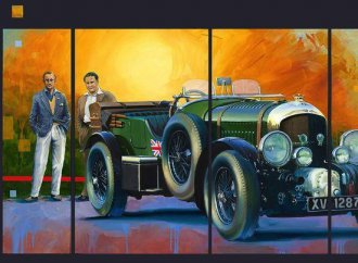 Automotive art featured at Pebble Beach