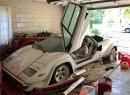 Imagine wondering into your grandmother's garage and finding a Lamborghini Countach. | Reddit photo/@eriegin
