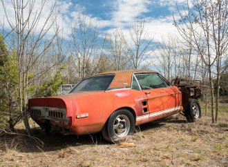 Thought to have been destroyed, Shelby's 'Little Red' prototype discovered