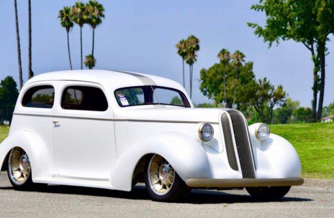 1936 Pontiac acclaimed most-beautiful street rod at Goodguys