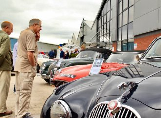 Famed Jaguars displayed at birthday party
