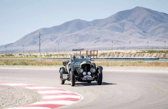 The couple got in a little track time. | Gerard Brown photo