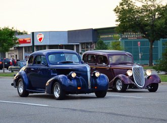Woodward Dream Cruise is steeped in automotive heritage